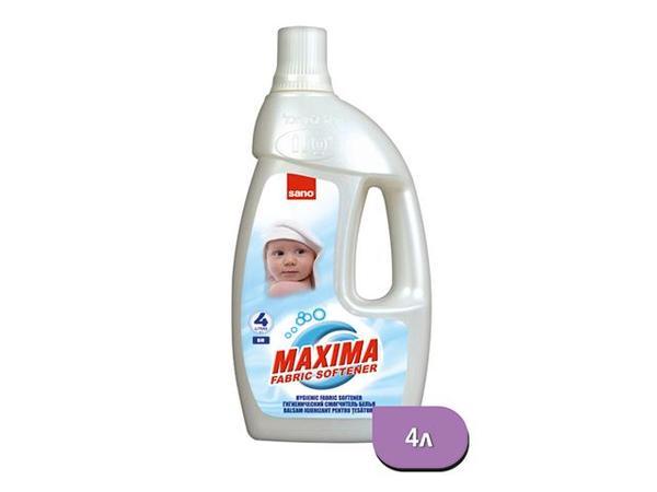 Sano Maxima Омекотител Био 4л бял